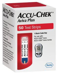 Accu-Chek Aviva Plus Retail - 50 Ct