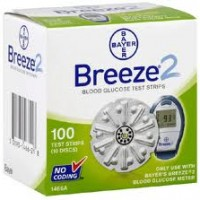 Bayer Breeze 2 Code1466a - 100 Ct