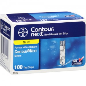 Bayer Contour Next Code 7312 - 100 Ct