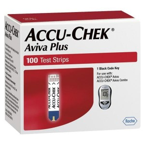 Accu-Chek Aviva Plus Retail – 100 Ct