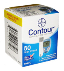 Bayer Contour DME/MO/HP - 50 Ct